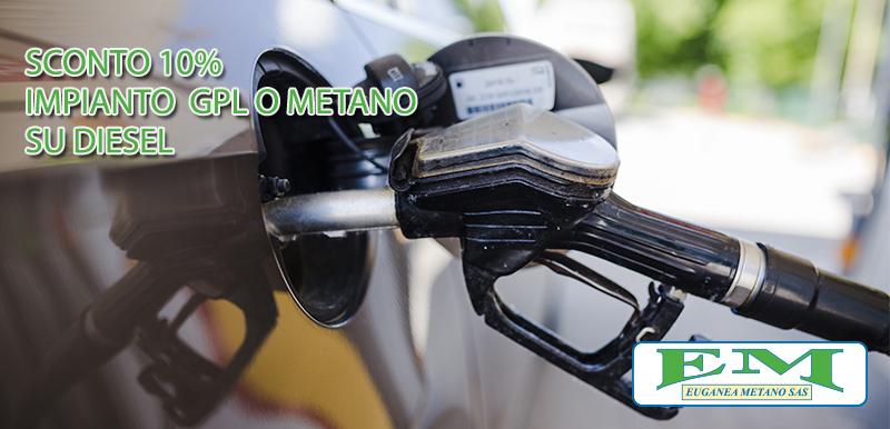 A Settembre risparmia sull'impianto a Gas per Diesel