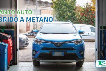 Impianto a metano su auto ibride con Euganea Metano