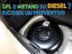 GPL e metano su diesel